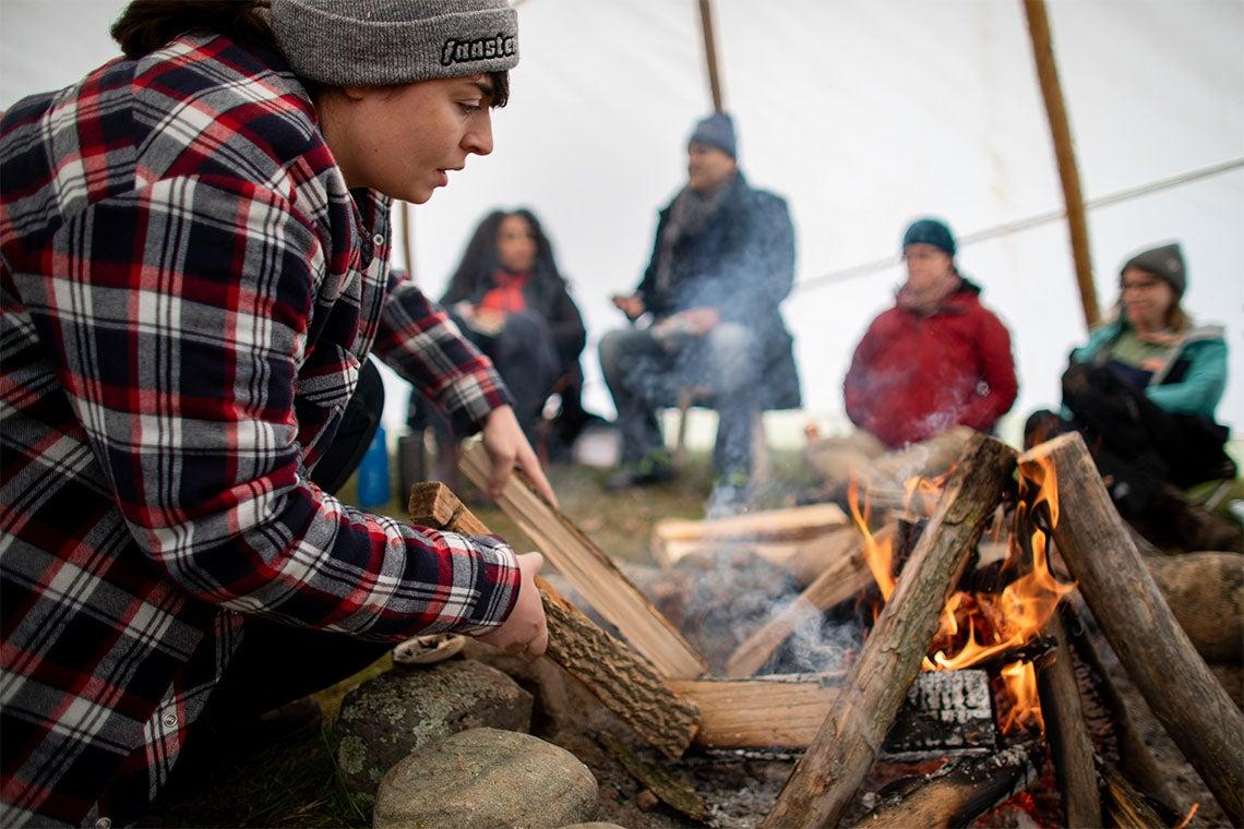 Healing begins on the land: How U of T's Dalla Lana School of Public Health is Indigenizing the teaching of public health