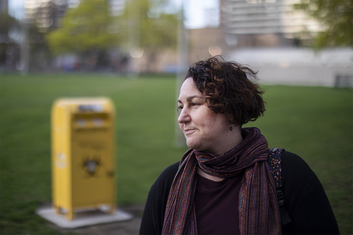 Gillian Kolla, PhD candidate at the Dalla Lana School of Public Health