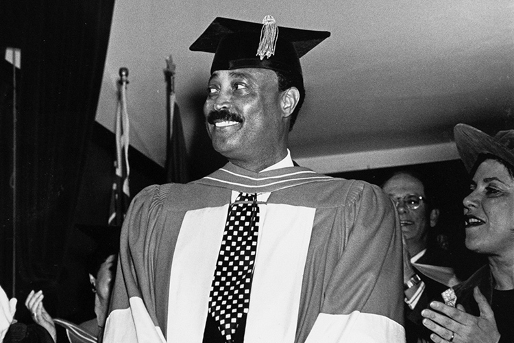 Cito Gaston at Honorary Degree ceremony