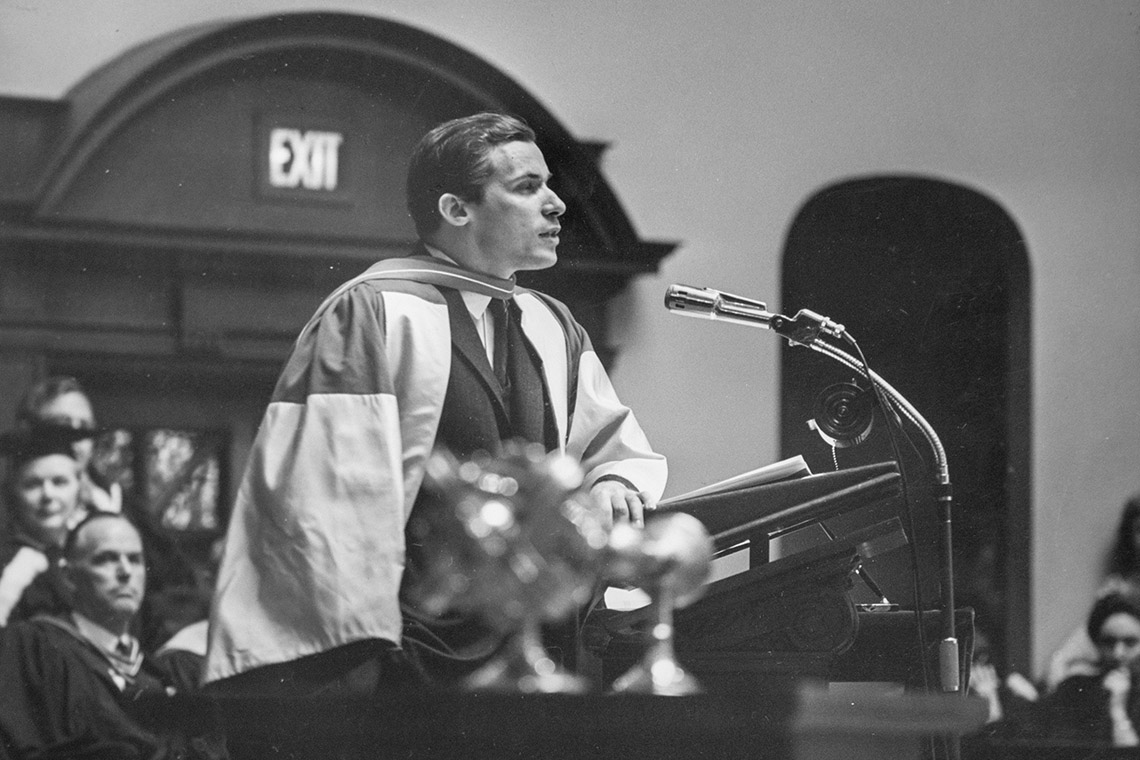 Glenn Gould honorary degree ceremony
