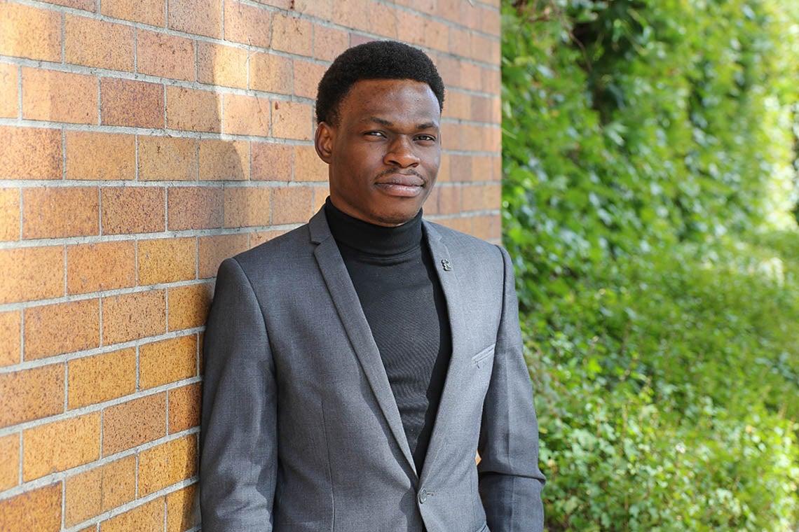 Portrait of Olugbenga Olubanjo