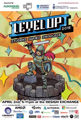 image of Level Up poster
