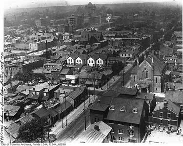 black and white archival image of the ward
