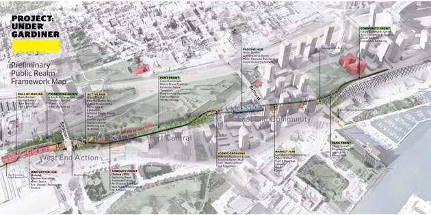 image of Under Gardiner project plan