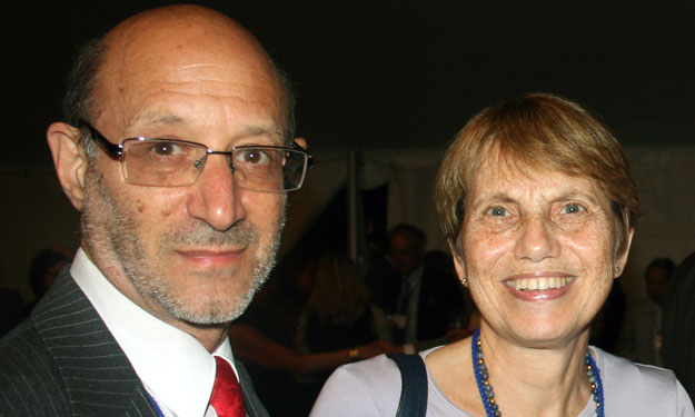 photo of Mary Katz and husband