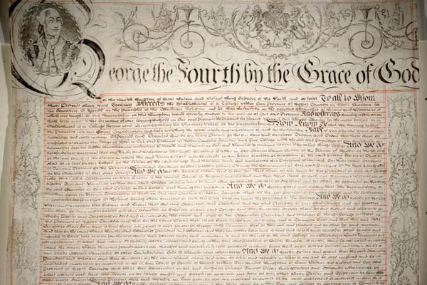 photo of the charter