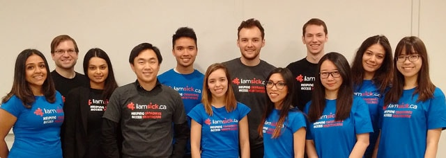 photo of iamsick team