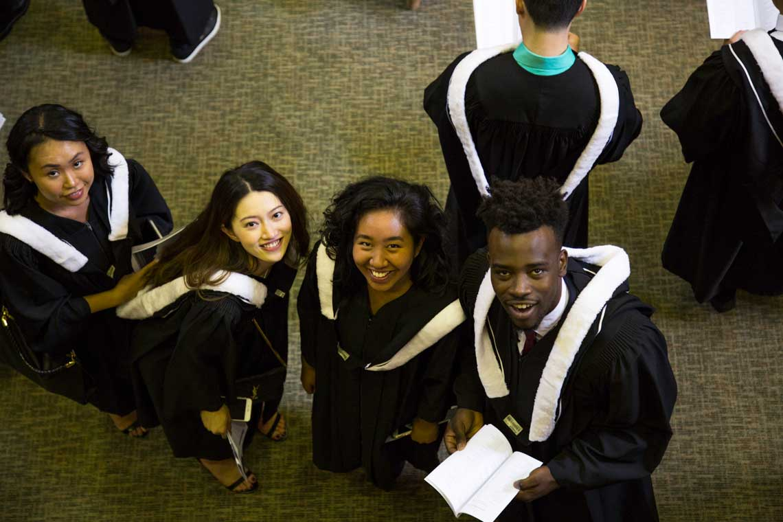 photo of Scarborough grads