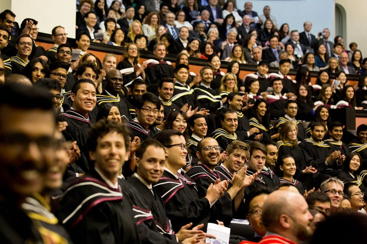 photo of convocation crowd