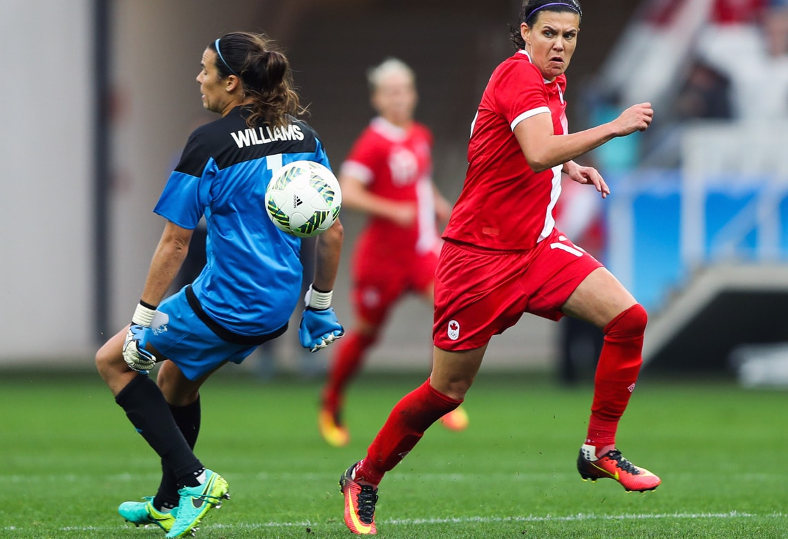 photo of Christine Sinclair