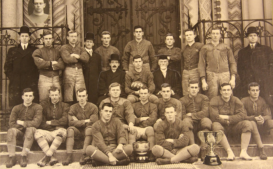Photo of 1909 Varsity team