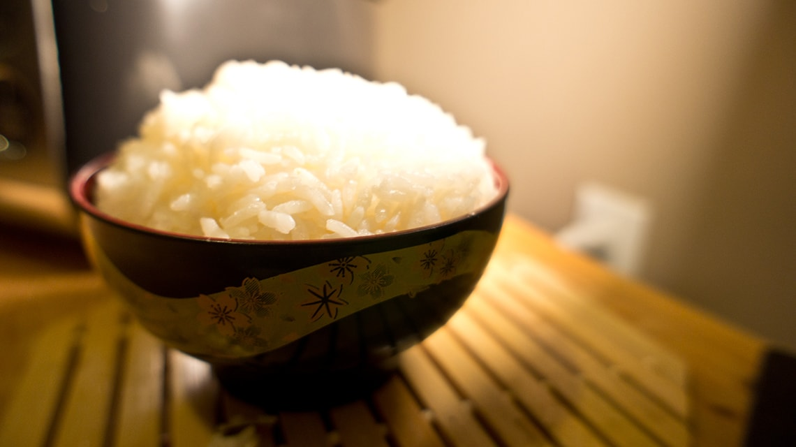 Photo of bowl of rice