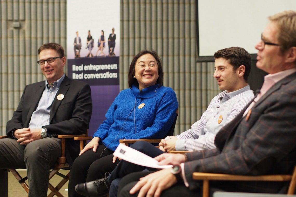 Photo of Entrepreneurship 100 panel