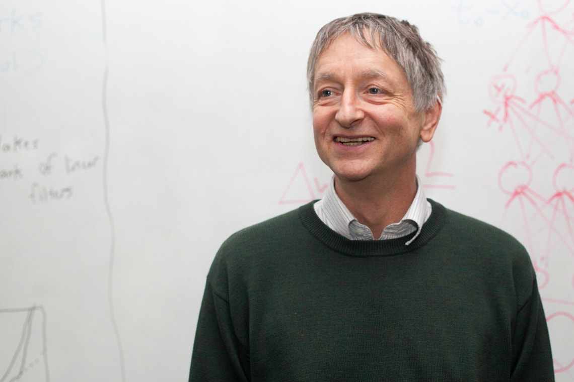 Photo of Geoffrey Hinton