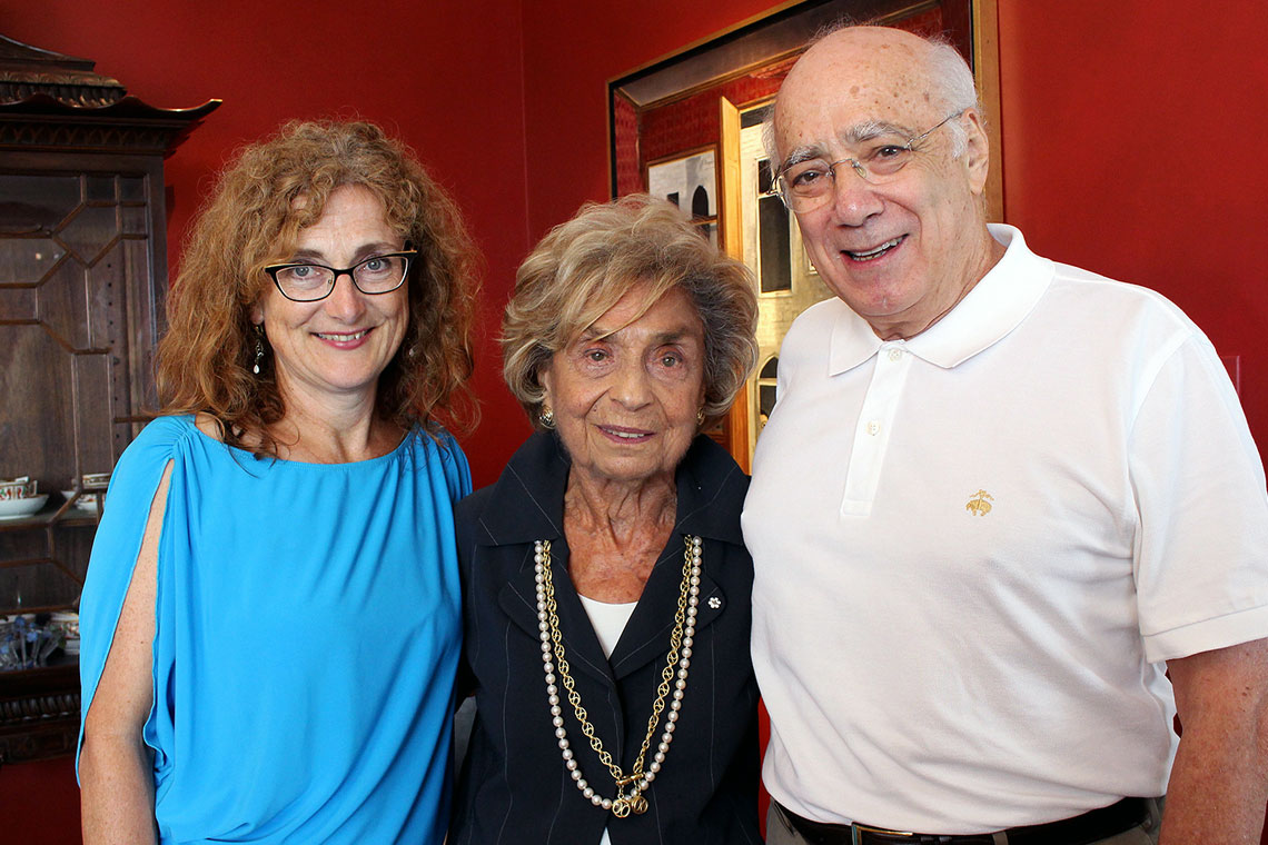 photo of Rose Wolfe with Doris Bergen and Michael Marrus