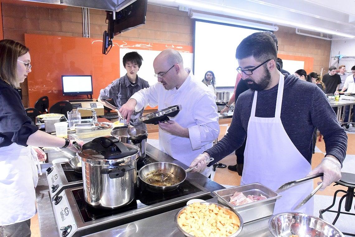 Dan Bender's Culinaria class