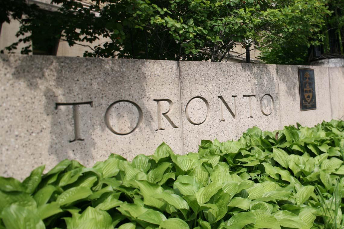 photo of University of Toronto sign