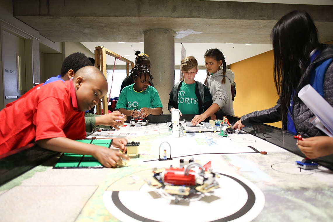 Making music with code, exploring solar-powered cars – U of T hosts STEM event