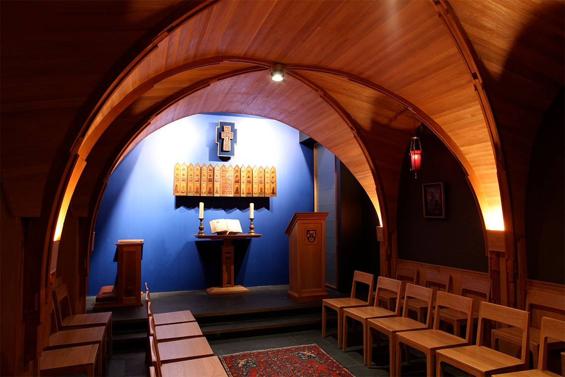 photo of St. Catherine's chapel at Massey College