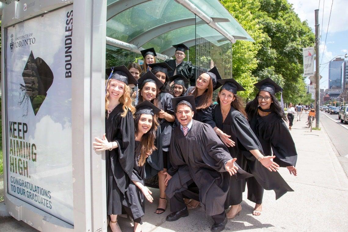 photo of grads