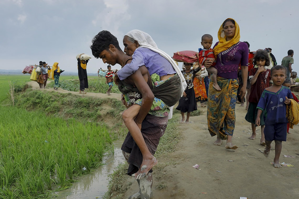 Photo from near the Bangladesh border