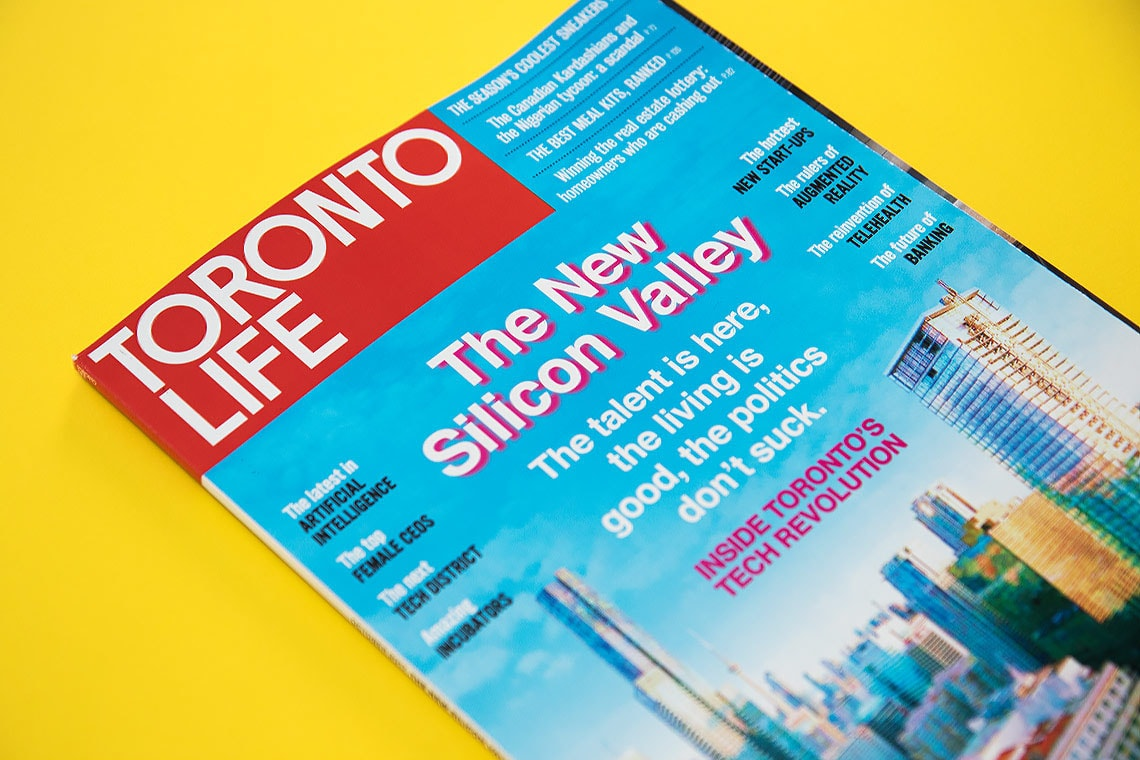 Photo of Toronto Life cover