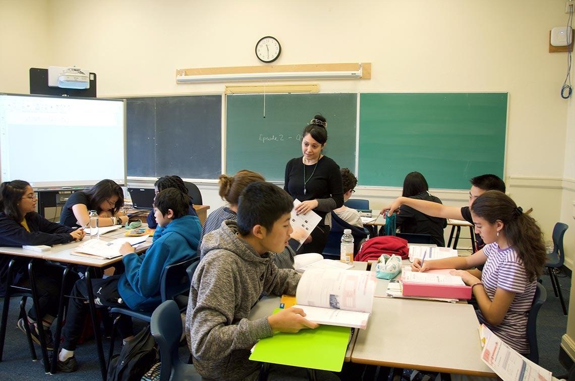 Photo of UTS classroom