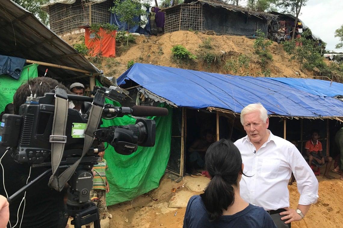 Bob Rae in Myanmar