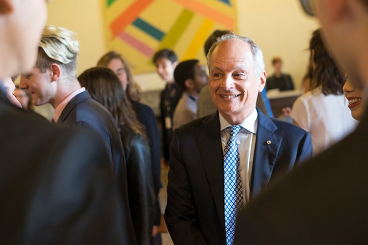 Meric Gertler and scholars