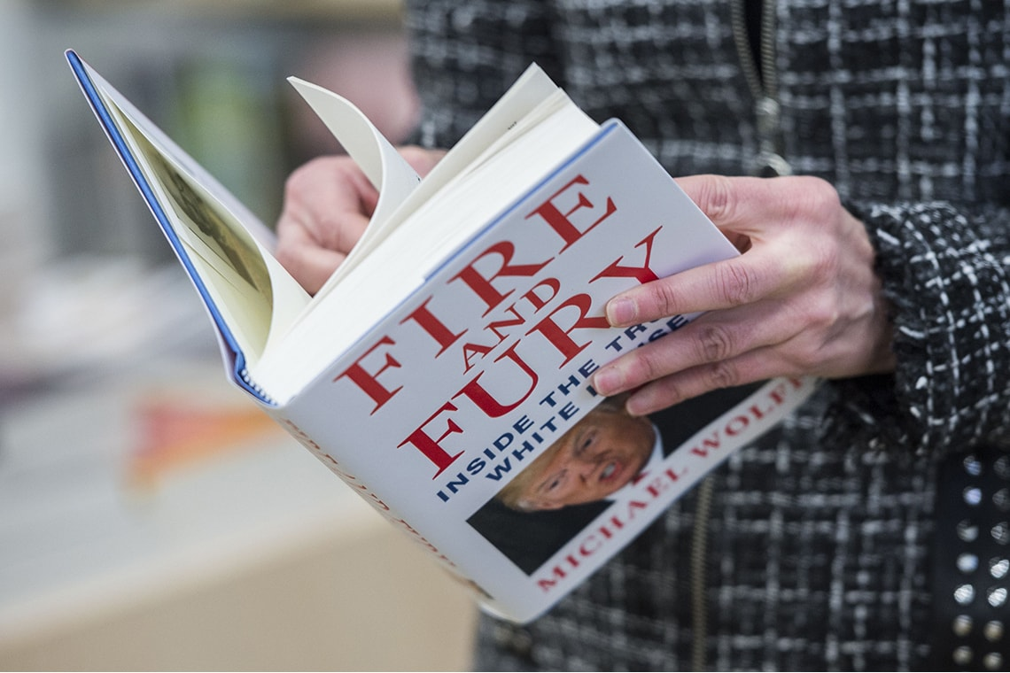 Photo of Fire and Fury, the Trump version