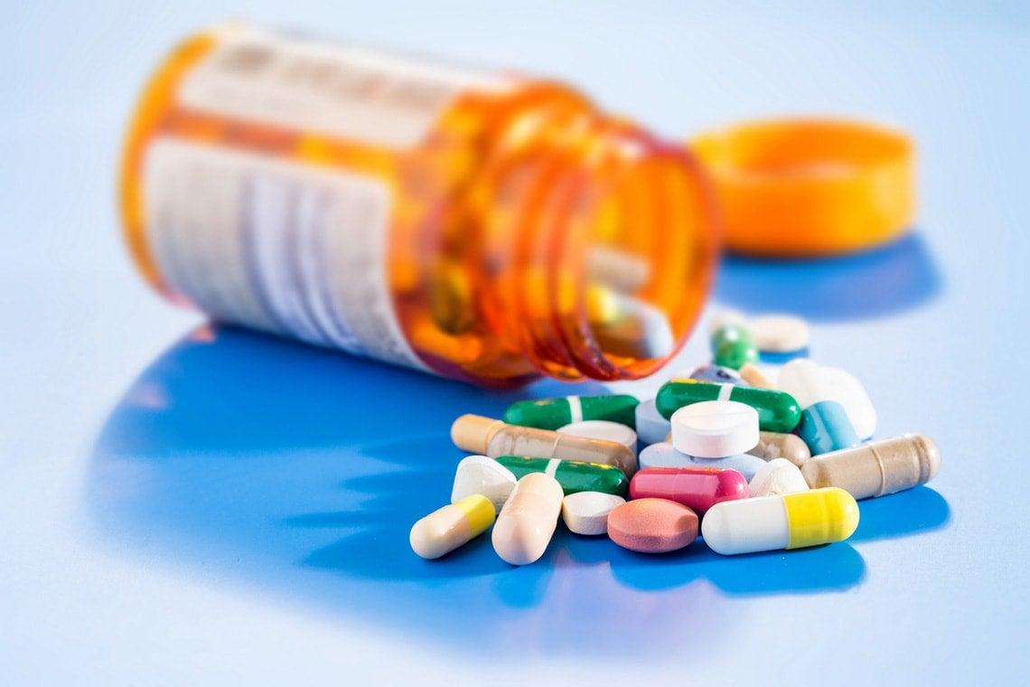 Photo of prescription drugs