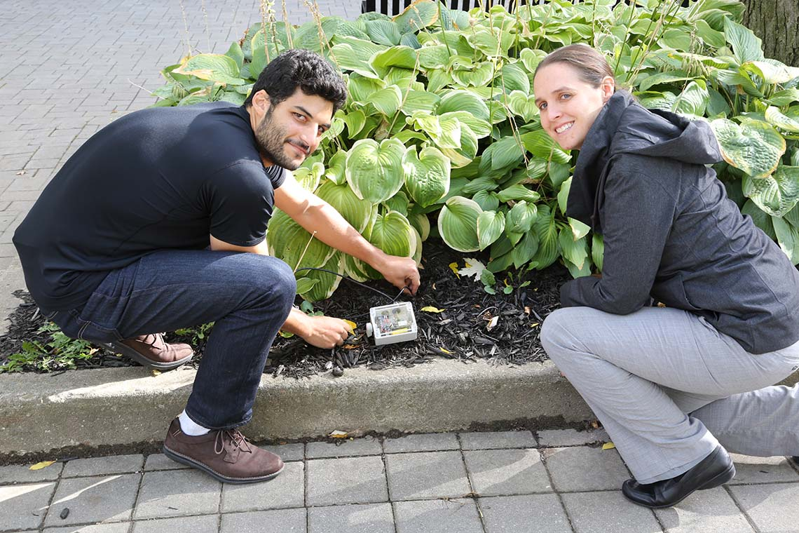 Data-driven farming: U of T alumni's startup develops low-cost sensors for Nepal