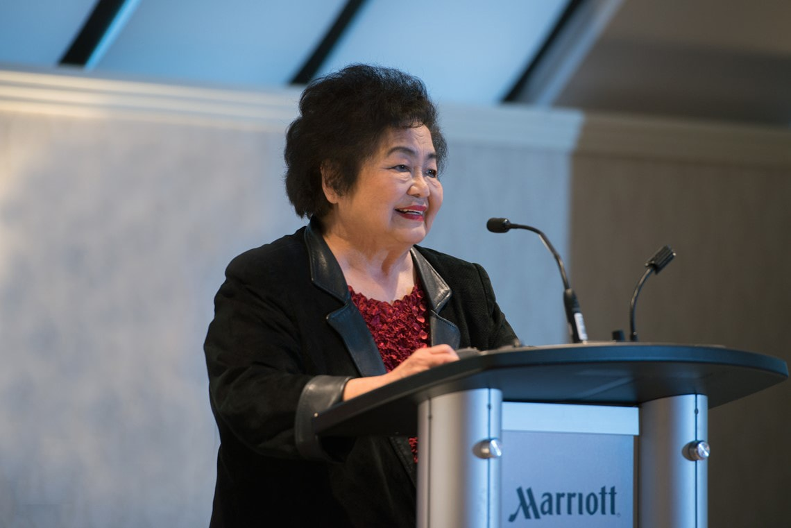 Photo of Setsuko Thurlow