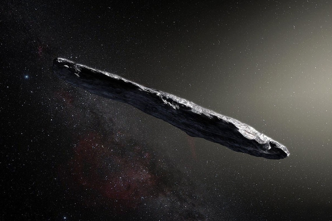 Photo of 'Oumuamua, the rocky object