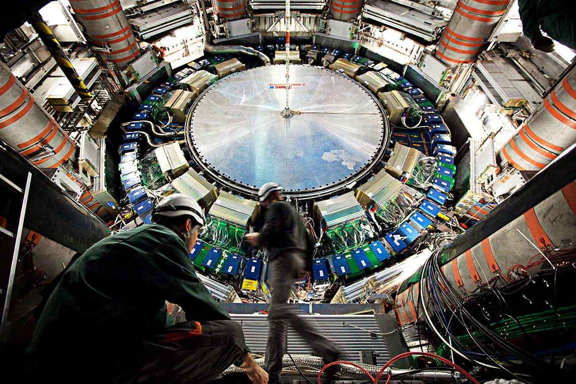 Photo of inside CERN