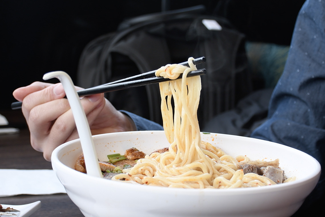Photo of bowl of noodls