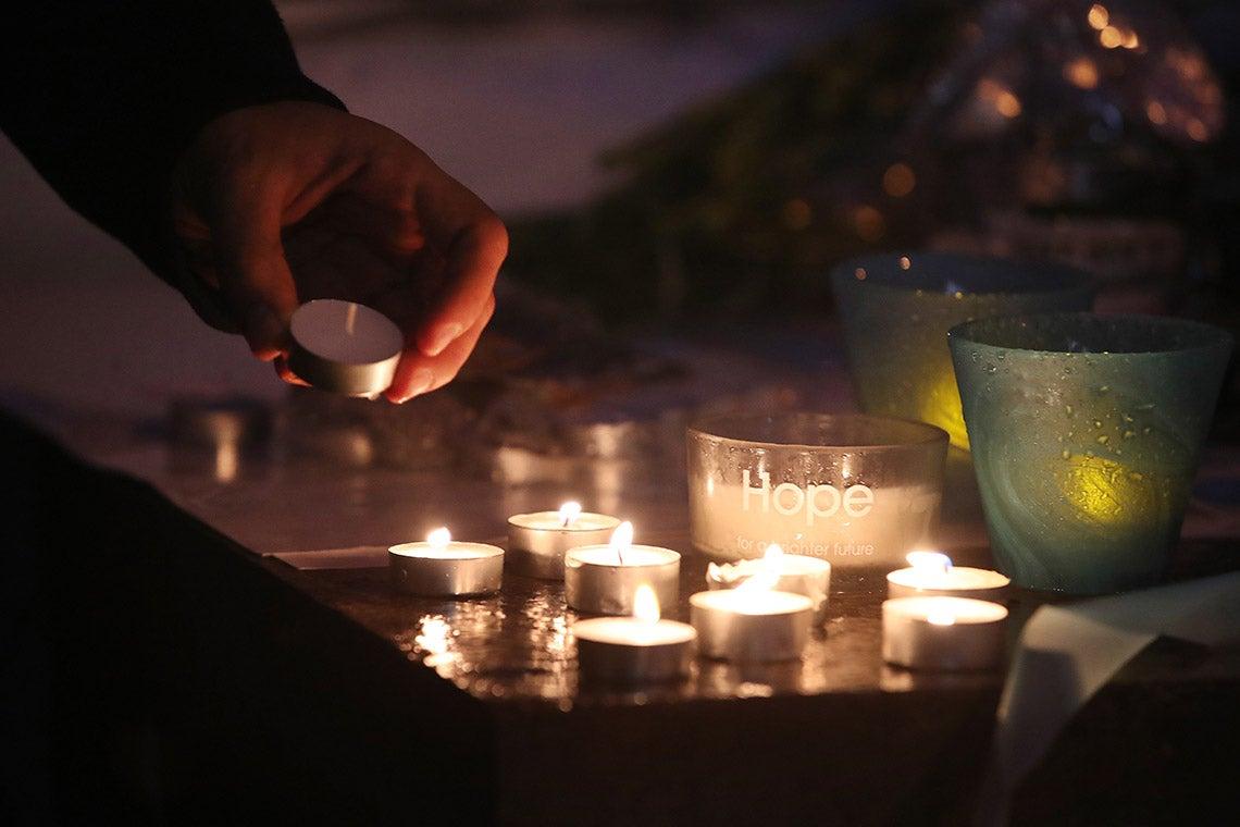 Photo of vigil