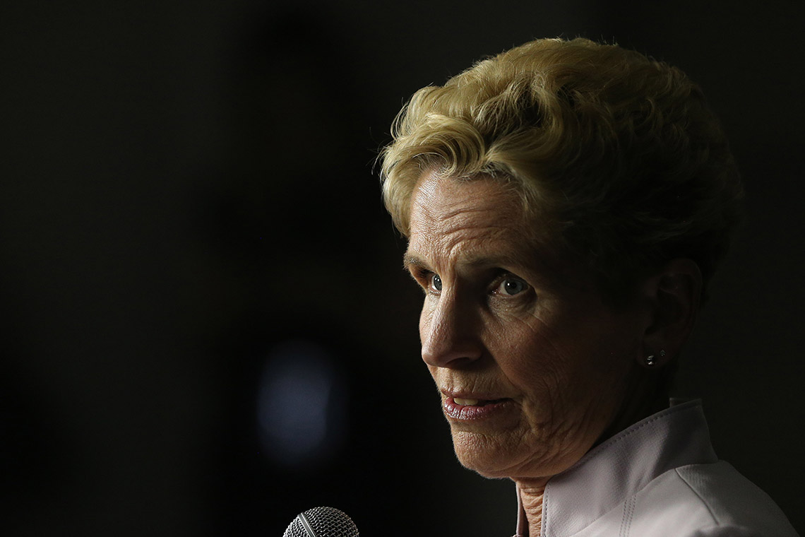 photo of Kathleen Wynne