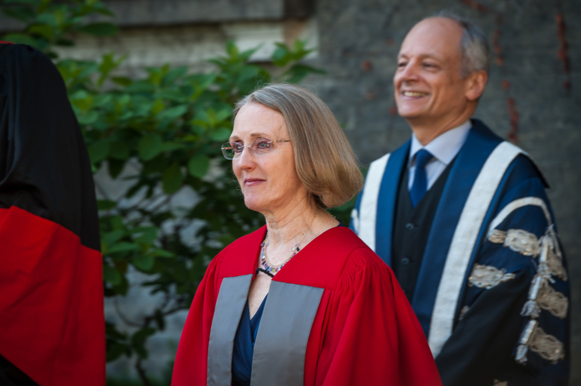 Photo of Janis Chodas and Meric Gertler