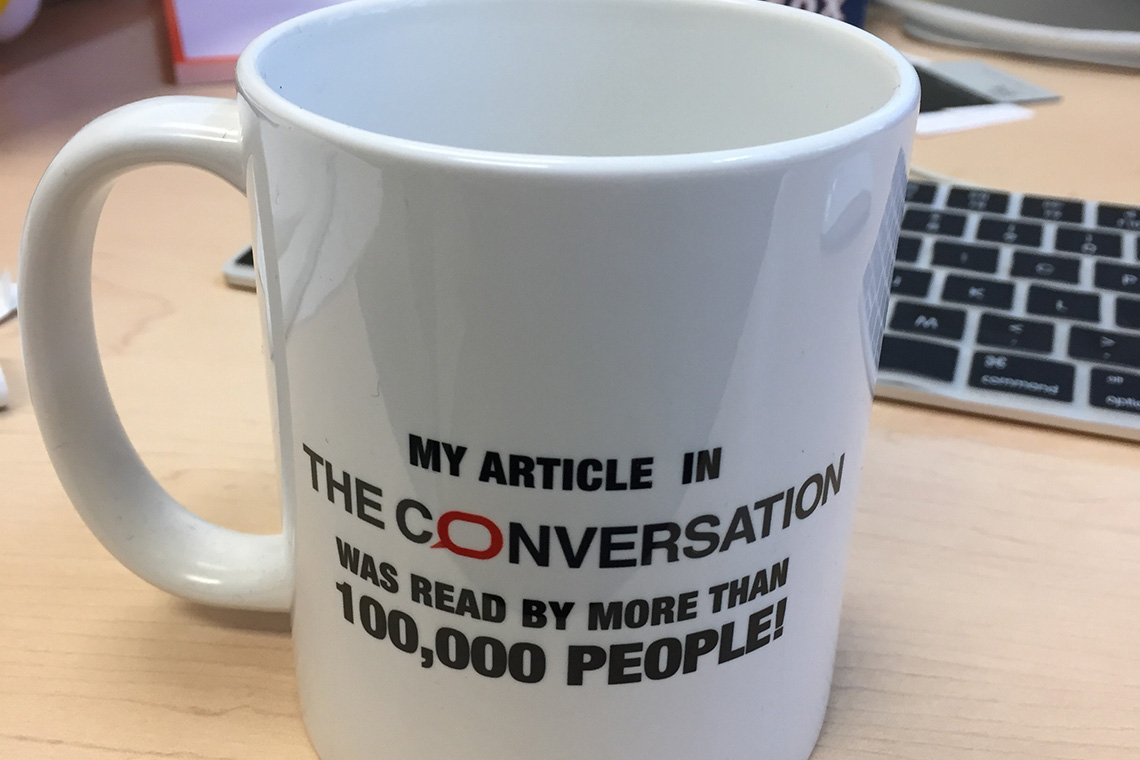 Photo of Conversation mug