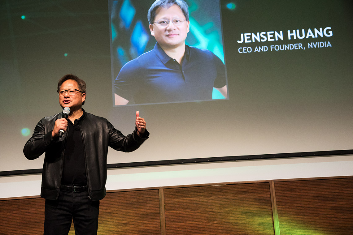 Photo of Jensen Huang
