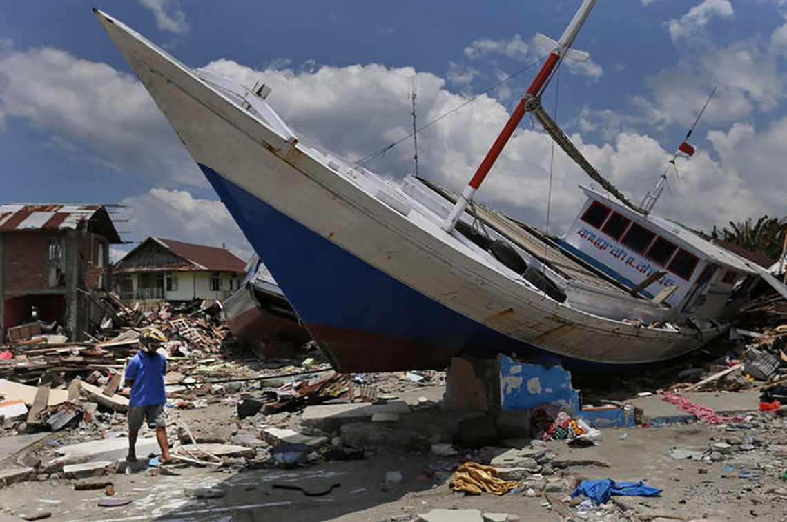 Photo of tsunami aftermath