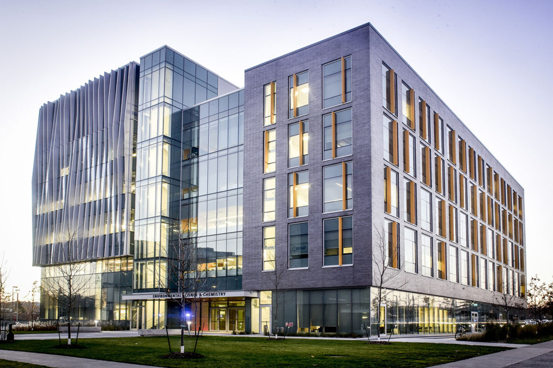 Photo of Enviromental Science and Chemistry building