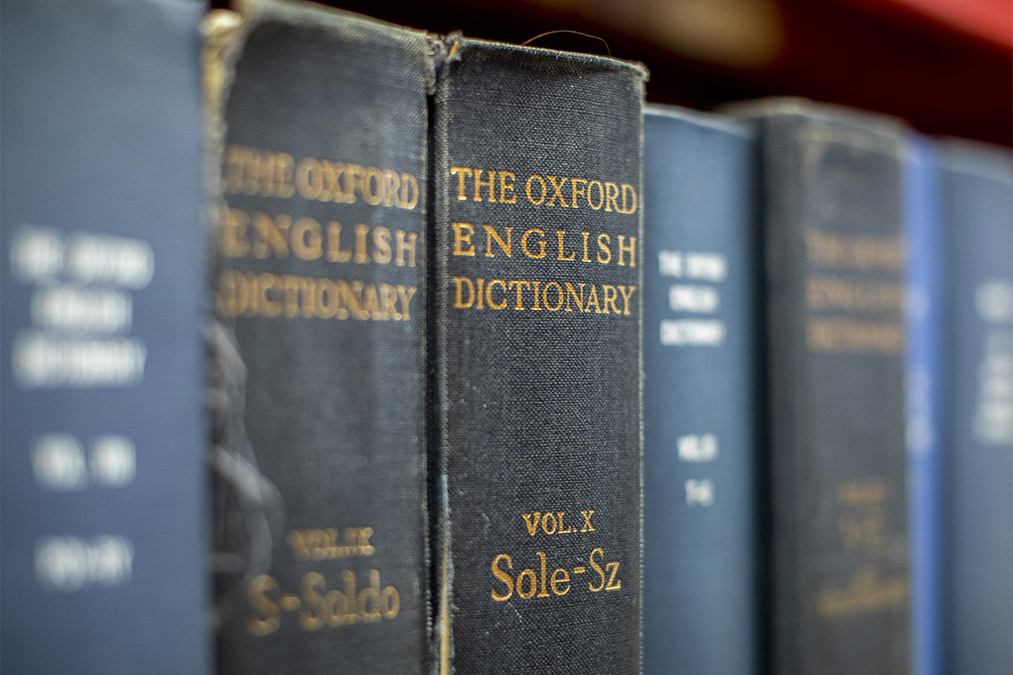 Photo of Oxford English Dictionary