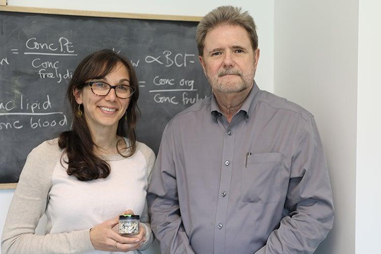 Photo of Chelsea Rochman and Bob Andrews