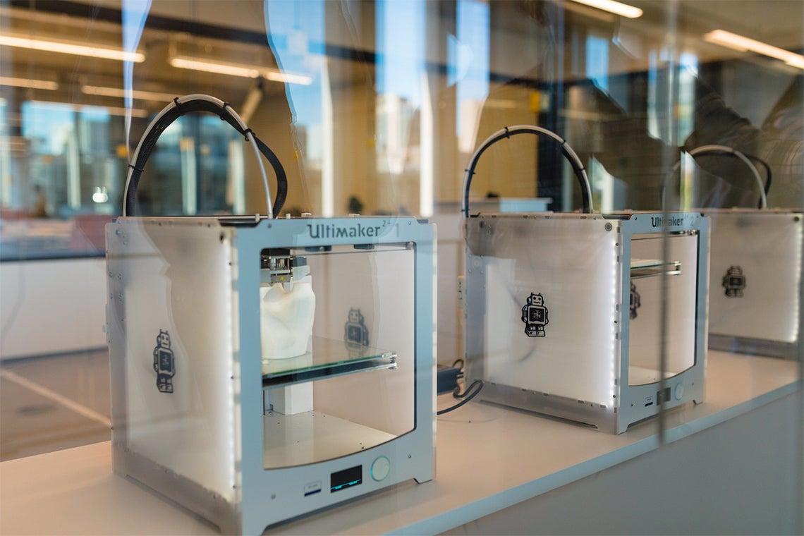 3D printers at Myhal