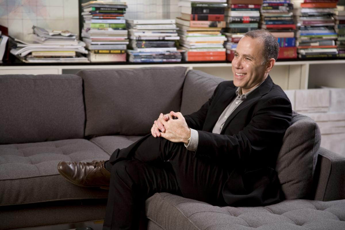 Dean Richard Sommer in his office