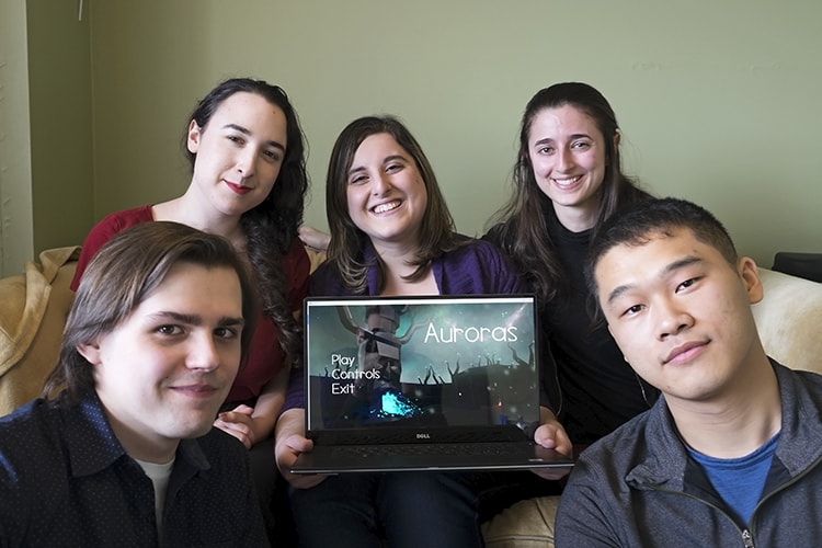The students behind the video game Auroras