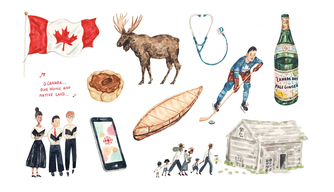 This issue's lead article: These 10 Things Are Very Canadian