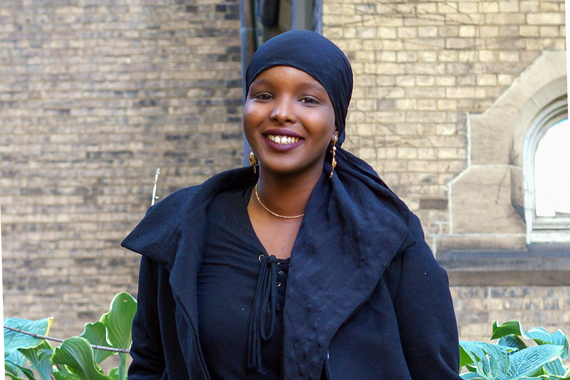 A Rhodes Scholar and student leader, U of T grad Ikran Jama brought her community into the classroom